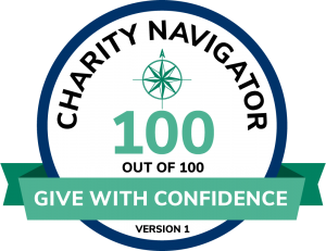 Charity Navigator 100 out of 100