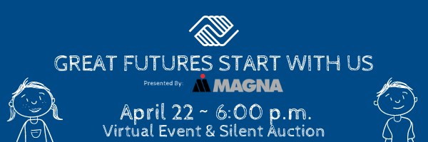 Great Futures Start with Us - April 22 at 6:00 p.m.